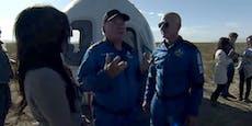 """Das sagt """"Star Trek""""-Ikone Shatner nach Weltall-Flug"""