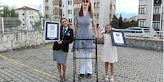 2 Meter und 15 Zentimeter! Türkin größte Frau der Welt
