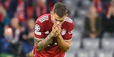 Bayern-Star stellt sich Gericht, jetzt geht es um Haft
