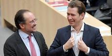 Umfrage-Beben für ÖVP und Polit-Watsche für Kurz