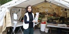 """""""Ärzte ohne Grenzen"""" im aufblasbaren OP am Karlsplatz"""