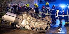 Ein Toter bei Auto-Überschlag in Eferding