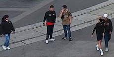 Raub in Wien! Wer kennt diese Männer?