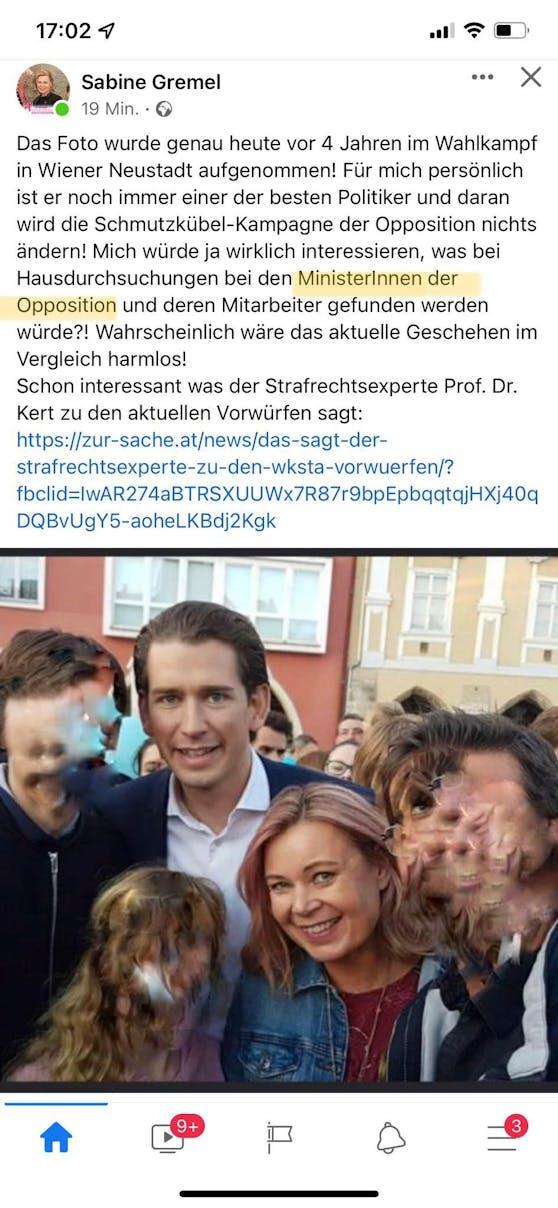 Sabine Greimels Posting
