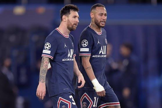 Lionel Messi und Neymar im absoluten Termin-Stress.