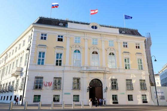 Blick auf das Bundeskanzleramt in Wien. (Archivfoto)