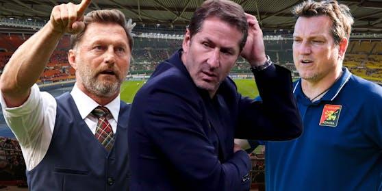 Franco Foda ist angezählt. Ralph Hasenhüttl und Andreas Herzog gelten als mögliche Nachfolger.