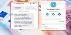 Betrüger verunsichern Wiener mit suspektem SMS und Call