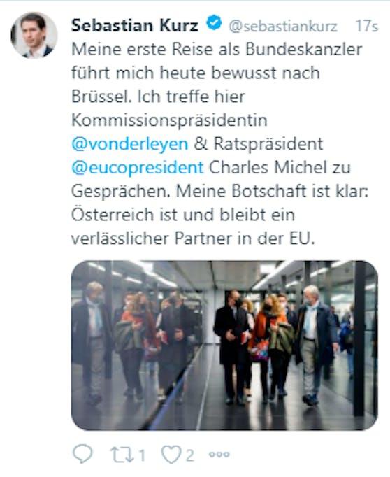 Ist Sebastian Kurz immer noch Kanzler? Im ÖVP-Medienteam dürfte sein Rücktritt noch nicht ganz durchgedrungen sein.