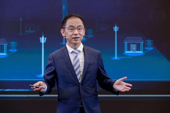 Ryan Ding, Executive Director und Präsident der Carrier BG von Huawei.