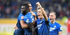 5:0! Baumgartner und Posch treffen bei Hoffenheim-Gala