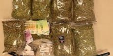 Waffen, Drogen & Bargeld – Polizei fasst Multi-Gangster