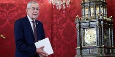 Van der Bellen lädt in die Hofburg zur Corona-Impfung