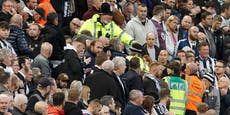 Fan kollabiert, Tottenham-Match unterbrochen