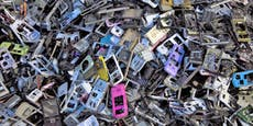 Unser E-Schrott wiegt mehr alsdie Chinesische Mauer
