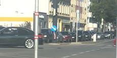 Stau-Chaos nach Crash in Wien-Floridsdorf
