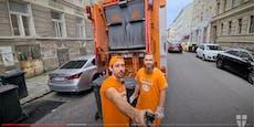 """""""Müllaufleger braucht Handschuhe und gute Laune"""""""