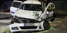 Crash in Willendorf fordert fünf teils Schwerverletzte
