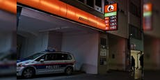 Maskierter Pistolen-Mann raubt Wiener Tankstelle aus