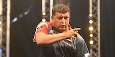 Suljovic scheitert bei Darts-EM im Viertelfinale