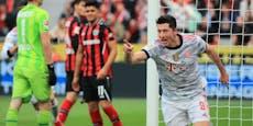 5:0 nach 38 Minuten, Bayern München in Überform