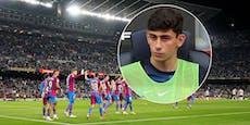 Demir schmort bei Barca-Sieg erneut auf der Bank