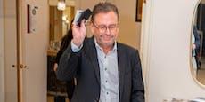 ORF-Boss mit Verspätung, Präsident mit Begeisterung