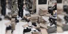 Wiener verwüsten Schuhgeschäft wegen 20 Prozent Rabatt