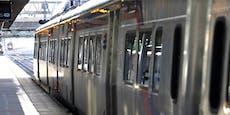 Frau in Zug vergewaltigt, Umstehende sehen tatenlos zu