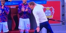 Bayern-Coach jubelt bei Torgala wie Rivale Haaland