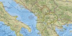 Erdbeben versetzt Menschen in Albanien in Angst