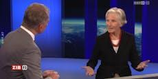 Irmgard Griss packt in ORF-ZIB2 über Sebastian Kurz aus