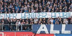 Fußball-Fans feiern Tod eines Polizisten in der Kurve
