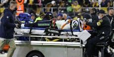 NFL-Drama: Spieler bleibt reglos auf Feld liegen