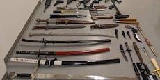 Cobra hebt bei Razzia illegalen Waffen-Ring in Wien aus