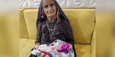 Frau wird mit 70 Jahren erstmals Mama