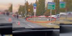 33-Jähriger bei Motorradunfall in Wien schwer verletzt