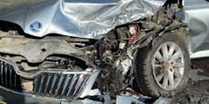 Unfall mit sechs Verletzten beim Flughafen Wien