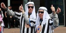 Newcastle-Fans dürfen keine arabische Kleidung tragen