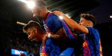 1:0! Barcelona bleibt mit Zittersieg noch im Rennen