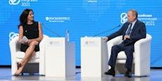 """Journalistin verspottet, weil sie mit Putin """"sexelte"""""""