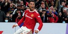 """Wir leben!"" So feiert Ronaldo seine United-Rettung"