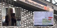 Frau nimmt Abkürzung über Bahnsteig – 115 € Strafe