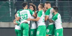 2:1! Rapid ringt Dinamo Zagreb in Europa League nieder