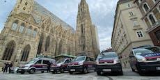 Großes Polizei-Aufgebot vor Risiko-Match in Wien