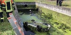 Porsche mit totem Fahrer blieb 5 Tage unentdeckt