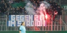 Dinamo-Fans solidarisieren sich mit Rapid-Ultras