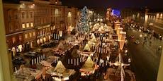 Linzer Christkindlmarkt fix, Freitag wird aufgebaut