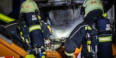 Gasflaschen auf Baustelle explodierten gleich zwei Mal