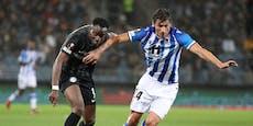 Tormann-Patzer kostet Sturm Punkt gegen Real Sociedad